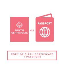 Birth cert passport