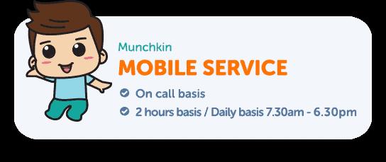 Munchkin Childcare Centre Mobile Service